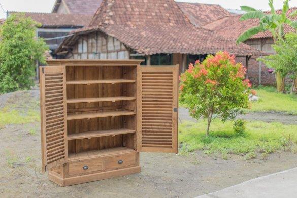 Teakholz Schrank Bali - Bild 2