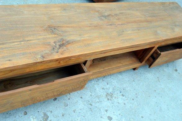 Teak TV Sideboard 200cm Dingklik - Bild 5