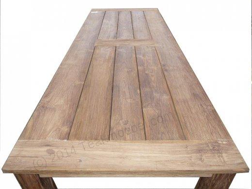 Gartentisch 280x100cm mit 10 Stapelstühle - Bild 2