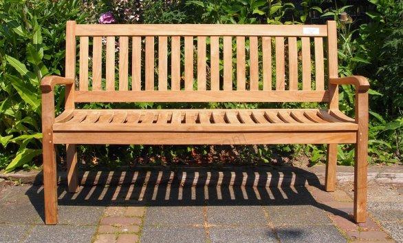 Teak Holz Gartenbank  180 cm Beaufort - Bild 0