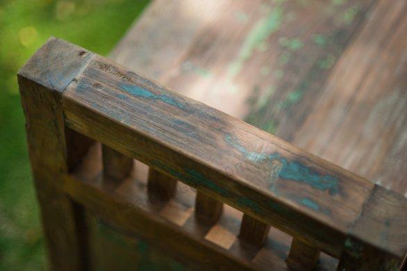 Teak Lowboard bangku Riet - Bild 7