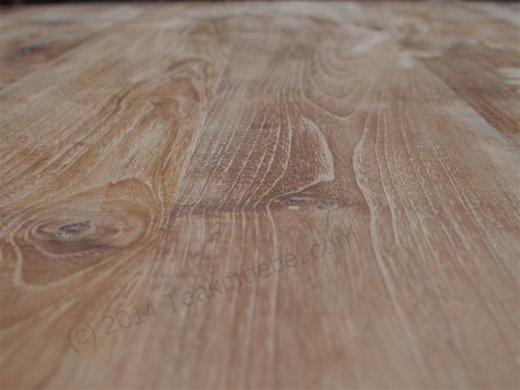 Teak Tisch rund 140 + 6 Stühle - Bild 3