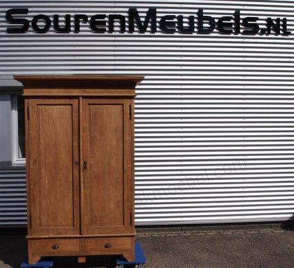 Teak Schrank 2-Türen 120 x 55 x 210 cm - Bild 8