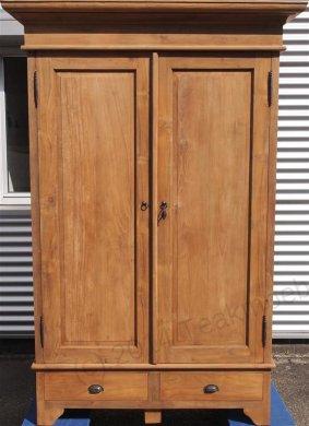 Teak Schrank 2-Türen 120 x 55 x 210 cm - Bild 3