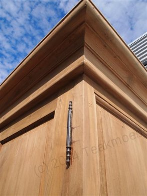 Teak Schrank 2-Türen 120 x 55 x 210 cm - Bild 7