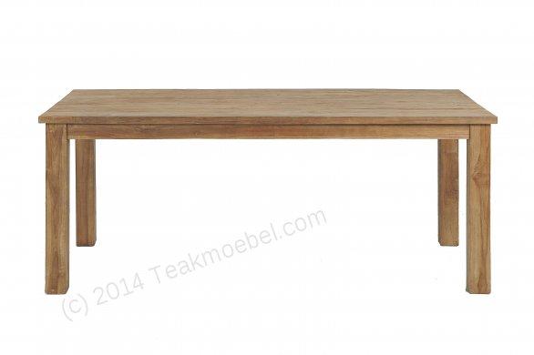 Teak Tisch gebürstet 200 x 100 - Bild 0