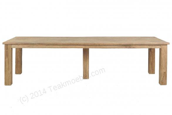 Teak Tisch gebürstet 300 x 100 - Bild 0