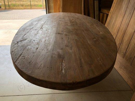 Teak Tisch oval 300x120cm Cross - Bild 8