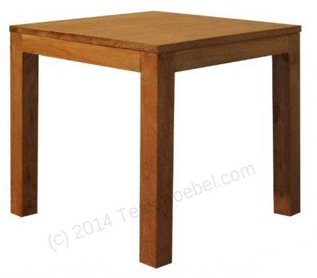 Teak Tisch 80 x 80 cm - Bild 0