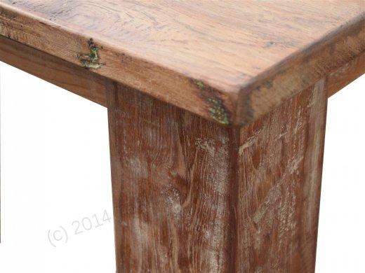 Teak Tisch altes Holz 320 x 120 cm - Bild 2