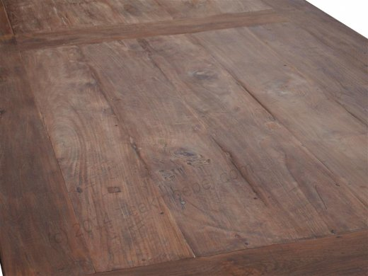 Teak Tisch altes Holz 320 x 120 cm - Bild 3