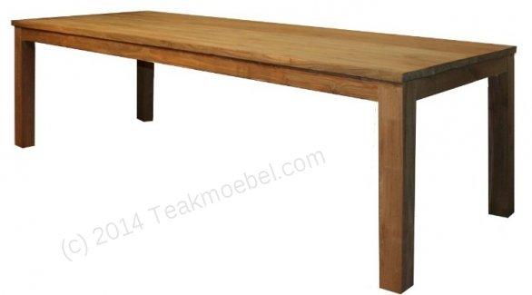 Teak Tisch 220 x 100 cm - Bild 0