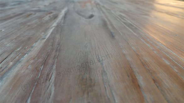 Teak Tisch oval 240x120cm - Bild 5