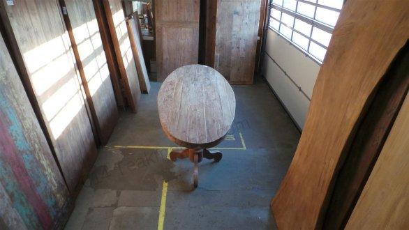 Teak Tisch oval 300x120cm + 8 Stühle - Bild 14