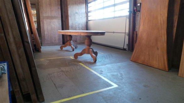 Teak Tisch oval 300x120cm - Bild 3