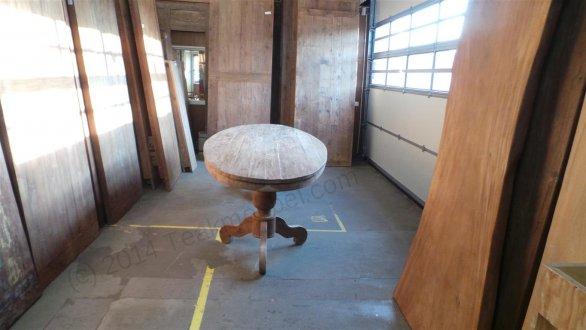 Teak Tisch oval 300x120cm - Bild 4