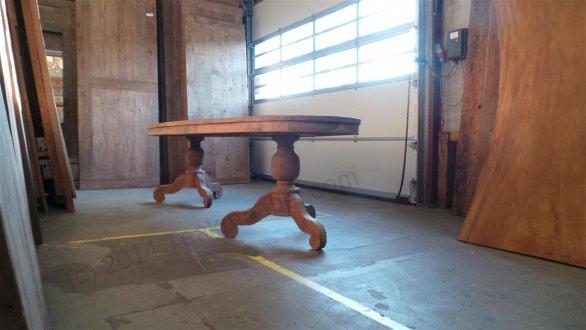 Teak Tisch oval 300x120cm + 8 Stühle - Bild 9