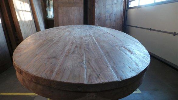 Teak Tisch oval 300x120cm + 8 Stühle - Bild 11