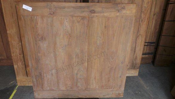 Old Teak Esstisch quadratisch 120x120 - Bild 2