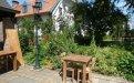 Teak Tisch altes Holz 80 x 80 cm - Bild 3