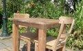 Teak Tisch altes Holz 80 x 80 cm - Bild 15