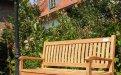 Teak Holz Gartenbank 150 cm Beaufort - Bild 0