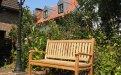 Teak Holz  Gartenbank 130 cm Beaufort - Bild 0