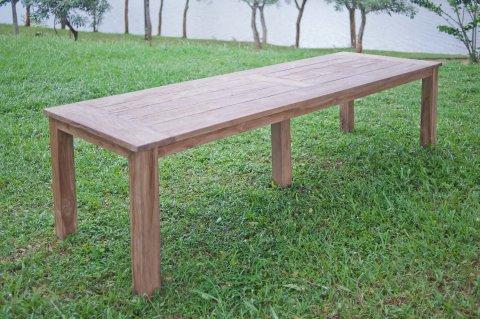 Teak Gartentisch 300 x 100 cm