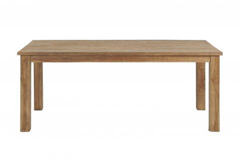 Teak Tisch gebürstet 200 x 100