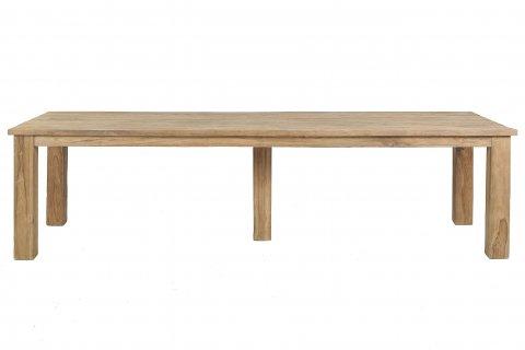 Teak Tisch gebürstet 300 x 100