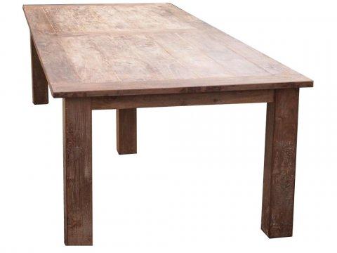 Teak Tisch altes Holz 320 x 120 cm
