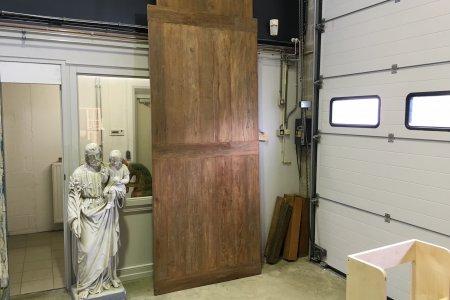 Teak Tisch altes Holz 280 x 120
