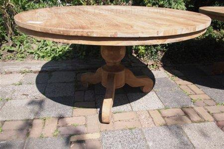 Teak Tisch rund  Ø 140 cm
