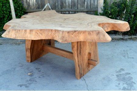 Suar Baumstamm Tisch 180 x 150