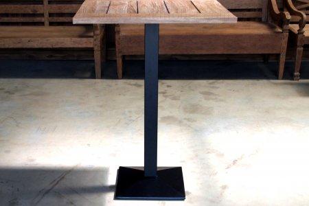 Teakholz Bistro Stehtisch 80x80cm