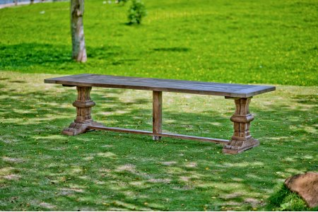 Outdoor Teak Klostertisch 300x100