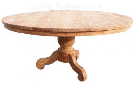 Teak Tisch rund Ø 160 cm