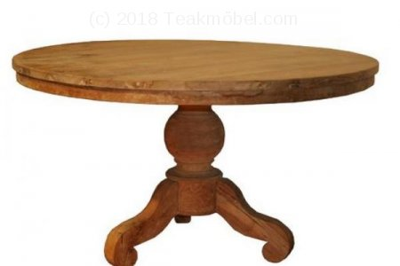 Teak Tisch rund Ø 120 CM