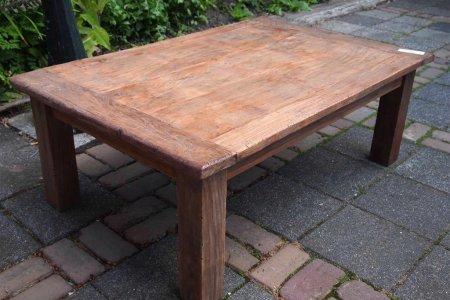 Teak Couchtisch aus altem Holz 120 x 80 cm