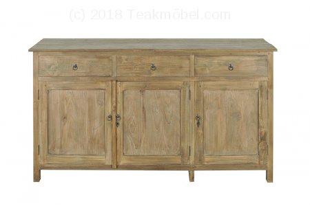 Teak Anrichte altes Holz 160 x 50 x 90 cm