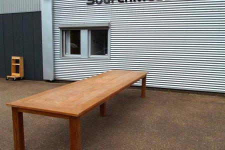 Teak Tisch altes Holz 450 x 120 cm