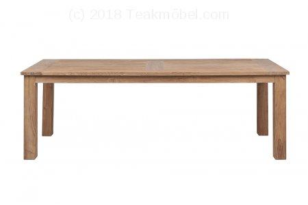 runder teak gartentisch 140cm teakm. Black Bedroom Furniture Sets. Home Design Ideas