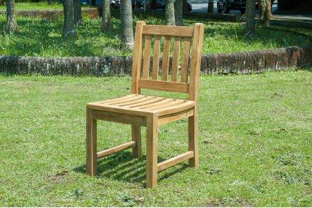 Teak Gartenstuhl ohne Armlehne Beaufort