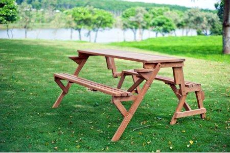 Teakholz Picknicktisch