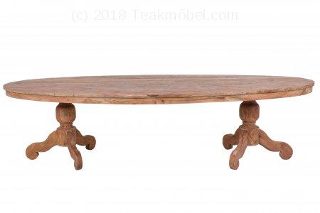 Teak Tische aus altem Holz | Teakmöbel.com