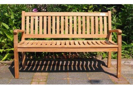 Teak Holz Gartenbank  180 cm Beaufort