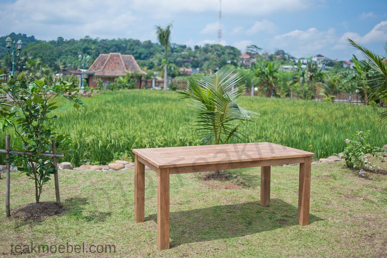 Gartentisch 160x90cm mit 4 beaufort st hle und bank - Gartentisch mit bank ...