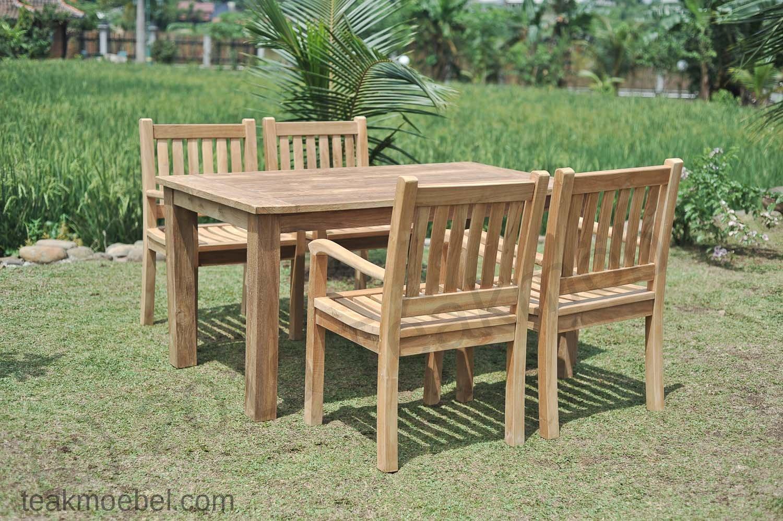 Gartentisch 160x90cm Mit 4 Beaufort Stuhle