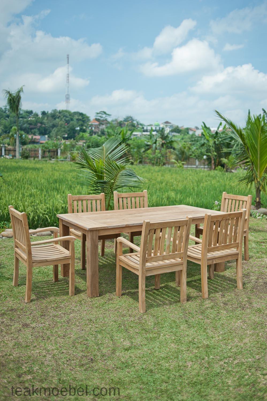 Gartentisch Mit Stühle : gartentisch 200x100cm mit 6 beaufort st hle teakm ~ Frokenaadalensverden.com Haus und Dekorationen