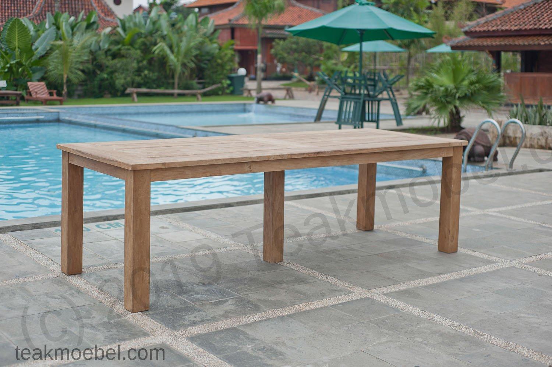 Gartentisch 260x100cm Mit 8 Beaufort Stühle